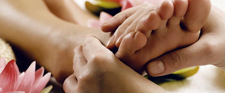 Mutterschafts Fussmassage